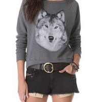 Haute Hippie Hungry Like a Wolf Sweatshirt | SHOPBOP