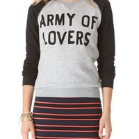 Zoe Karssen Army of Lovers Sweatshirt | SHOPBOP