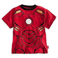 Iron Man Tee for Boys - Deluxe Storytelling | Disney Store