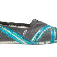 Tyler Ramsey Hand Painted Stripes Ash Women's Classics | TOMS.com
