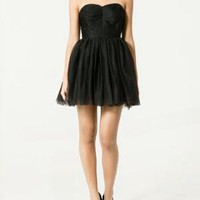 STRAPLESS STUDIO TUTU DRESS