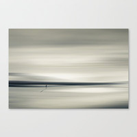 aLone Stretched Canvas by Dirk Wuestenhagen Imagery