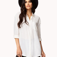 Button Tab Shirt