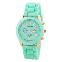 Candy Color Silicone Sports Watch for Summer
