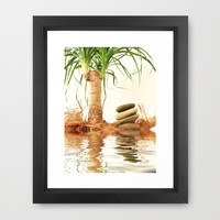 """"" Reflection """" Framed Art Print by Tine ✿ NOVEMBERKIND 