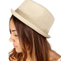 Natural Linen Best Seller Fedora
