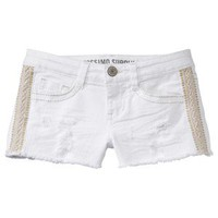 Mossimo Supply Co. Juniors Denim Short - White