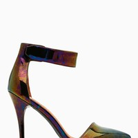 Solitaire Platform Pump - Oil Slick