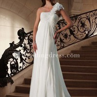Beach Wedding Dress,Informal Bridal Gown