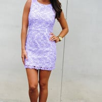 RESTOCK Easily Impressed Dress: Purple | Hope's