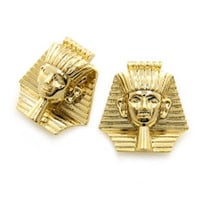 ROIAL Sphinx Earrings Gold : Karmaloop.com - Global Concrete Culture