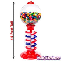 Light and Sound Spiral Gumball Bank with Gumballs | CandyWarehouse.com Online Candy Store