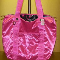 victorias secret pink surfer pink bookbag | eBay
