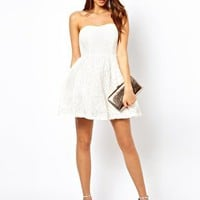 True Decadence Prom Dress In Lace at asos.com