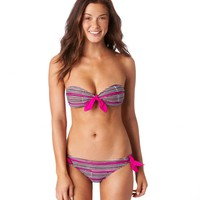 Aerie Striped Bandeau Bikini Top | Aerie for American Eagle