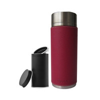 Tea Tumbler 10oz + Skin // Includes Small Tea Canister