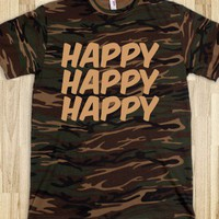HAPPY  - Nina's Shop - Skreened T-shirts, Organic Shirts, Hoodies, Kids Tees, Baby One-Pieces and Tote Bags