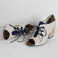 Anthropologie - Heather Lace-Up Heels