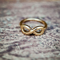 Tiny Infinity Knuckle Ring