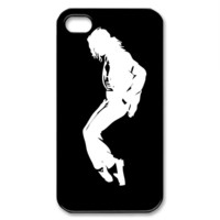 Michael Jackson - Black Custom iPhone 4/4S Case