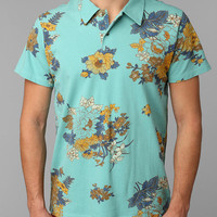 OBEY Vacation Floral Polo Tee