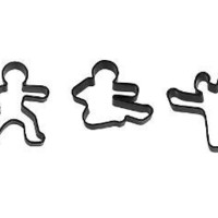 NINJABREAD MEN | Cookie Cutter, baking tools, kitchen accessories, food, fun | UncommonGoods