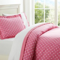 Dottie Bundle with Suite Sheeting, Bright Pink