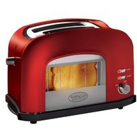 Nostalgia Electrics RWT500RETRORED Retro Series Window Toaster, Red:Amazon:Kitchen & Dining