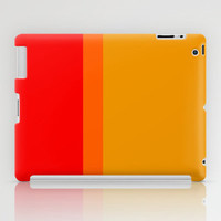 Re-Created Playing Field XLVII iPad Case by Robert Lee