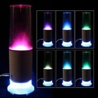 LOCOMOLIFE Touch Sensor LED Water USB Mood Lamp Night Light Speaker