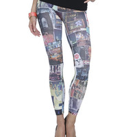 City Skyline Seamless Legging | Shop Just Arrived at Wet Seal