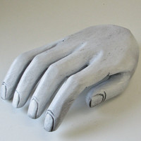 Carved Wood Hand - Photo Prop - Home Decor