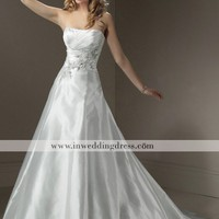 Beach Bridal Gown,Destination Wedding Dress