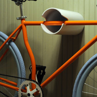 wall bike rack hanging display