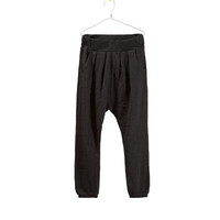 VELOUR HAREM PANTS - Trousers  - Girl - Kids - ZARA United States
