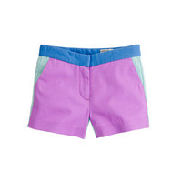 Girls' Frankie short in colorblock