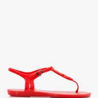 Mel for Forever 21 Mini-Wedge Thong Sandals
