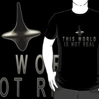 This World Is Not Real by SJ-Graphics