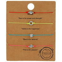 Mood Bracelet Pack - Topshop USA