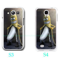 funny banana-Samsung Galaxy S3 ,Samsung Galaxy S4 ,you can choose S3 or S4-includes screen protector and cleaning cloth