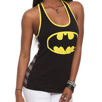 DC Comics Batman Stripe Girls Tank Top | Hot Topic
