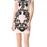 McQ - Alexander McQueen Jacquard Knit Dress | SHOPBOP