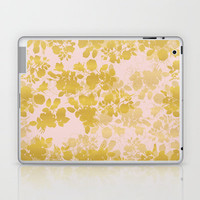 Audrey - Gold Laptop & iPad Skin by gabi press