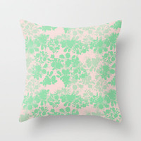 Audrey Throw Pillow by gabi press