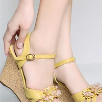 Mouricia  Wedge Sandals  from sniksa