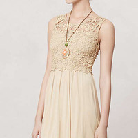 Anthropologie - Honeyed Lattice Dress
