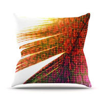 "Alison Coxon ""Feather Pop"" Throw Pillow 