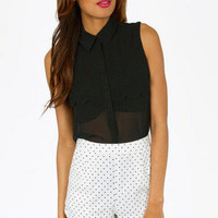 Shanna Sleeveless Blouse $31