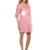 MORE of me Women's Maternity The Baby Shower Dress, Pink, X-Small