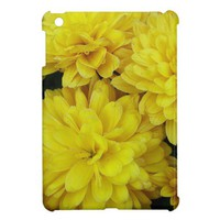 Yellow Mums Cover For The iPad Mini from Zazzle.com